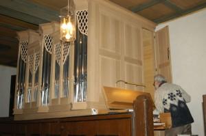 Die Täterin drohte, die Orgel zu sprengen.